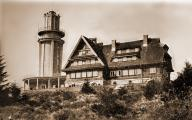Condition of chalet and tower befor World War II (1939, P)